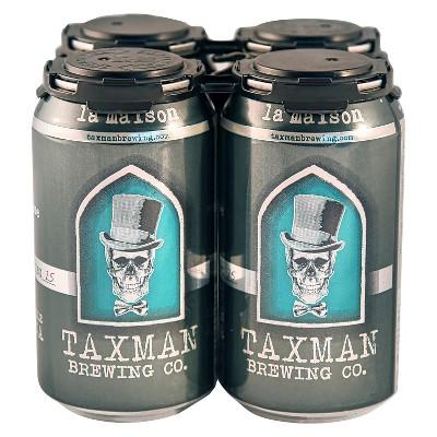 Taxman La Maison American Farmhouse Honey Ale Beer - 4pk/12 fl oz Cans