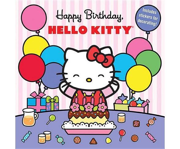 Happy Birthday Hello Kitty Paperback Buy Online In Martinique At Desertcart