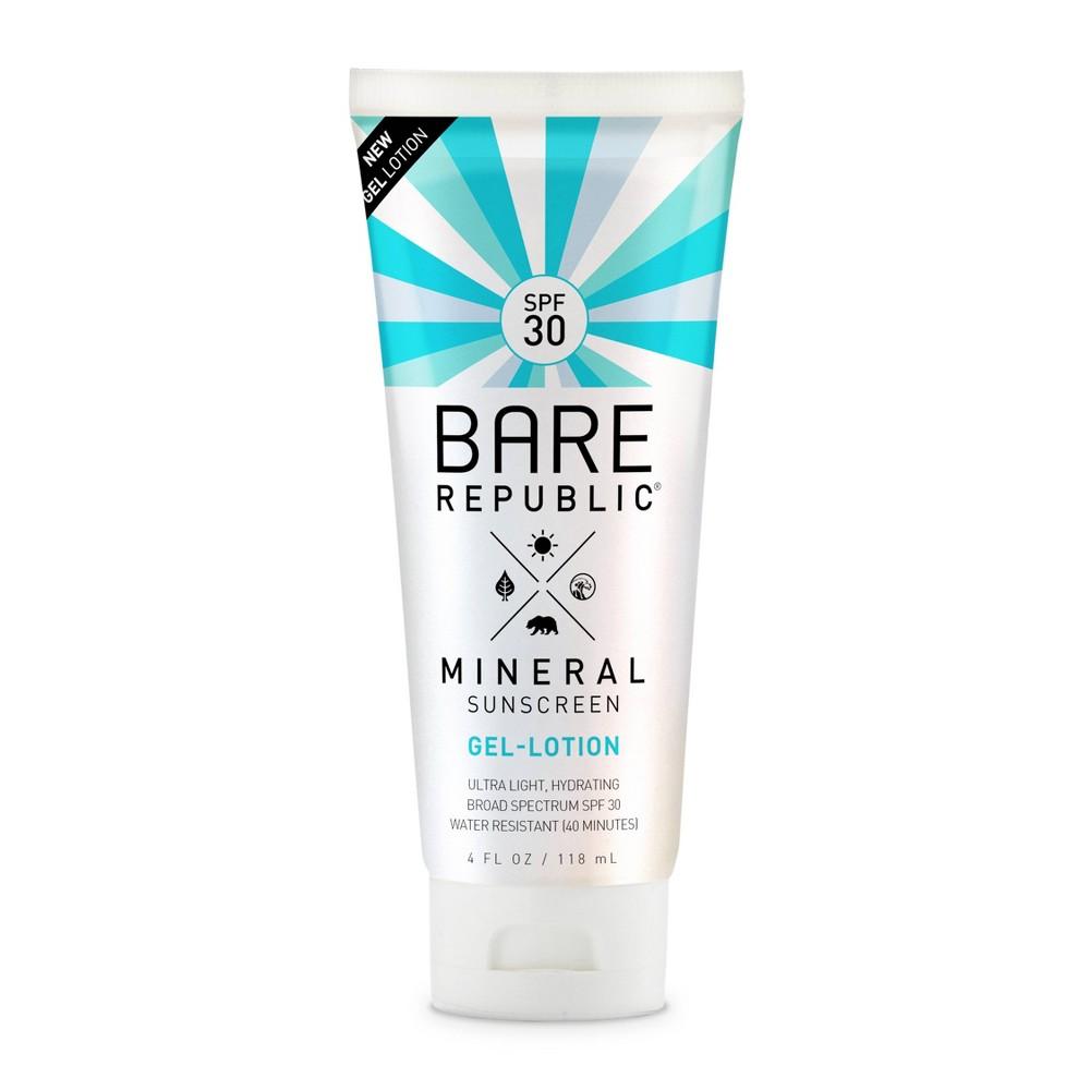 Image of Bare Republic Mineral Body Gel Sunscreen Lotion - SPF 30 - 4 fl oz