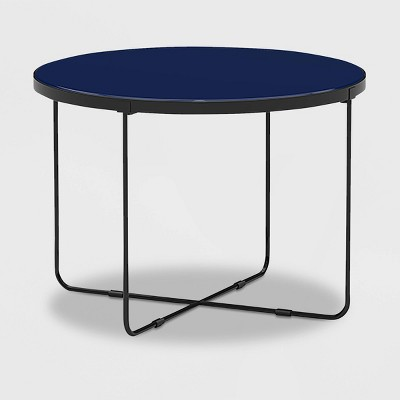 Thomas Round Coffee Table Blue - Finch