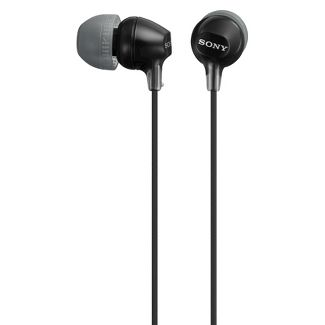 Sony Fashionable In-Ear Wired Headphones - Black