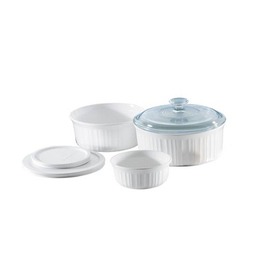 CorningWare 6pc Bakeware Set White