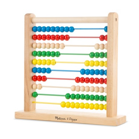 1478193c60c7 Melissa   Doug® Abacus - Classic Wooden Educational Counting Toy With 100  Beads   Target