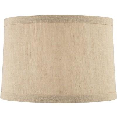 Springcrest Taupe Linen Hardback Drum Lamp Shade 15x16x11 (Spider)