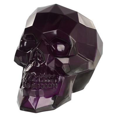 Large Halloween Crystal Skull Purple - Hyde and Eek! Boutique™
