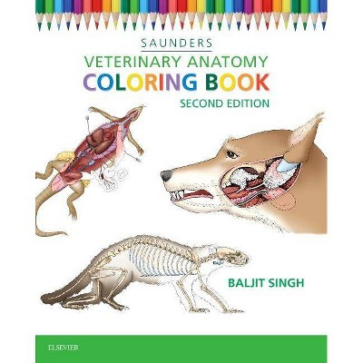 - Veterinary Anatomy Coloring Book - 2nd Edition By Baljit Singh (Paperback)  : Target