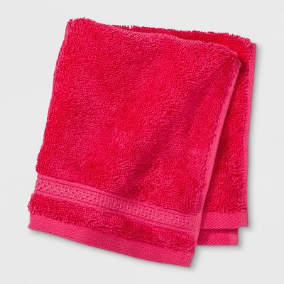 Soft Solid Washcloth Hot Pink - Opalhouse™