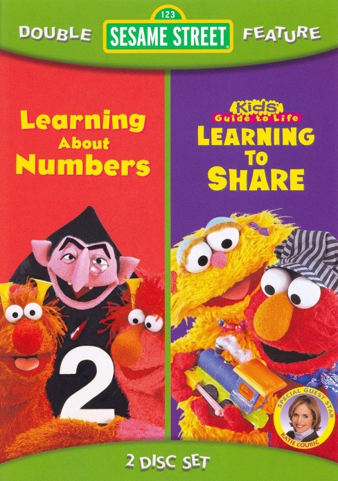 Sesame street:Learning to share/Learn (DVD) - image 1 of 1