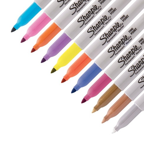 sharpie permanent marker  Sharpie Permanent Markers Limited Edition Box 36ct : Target