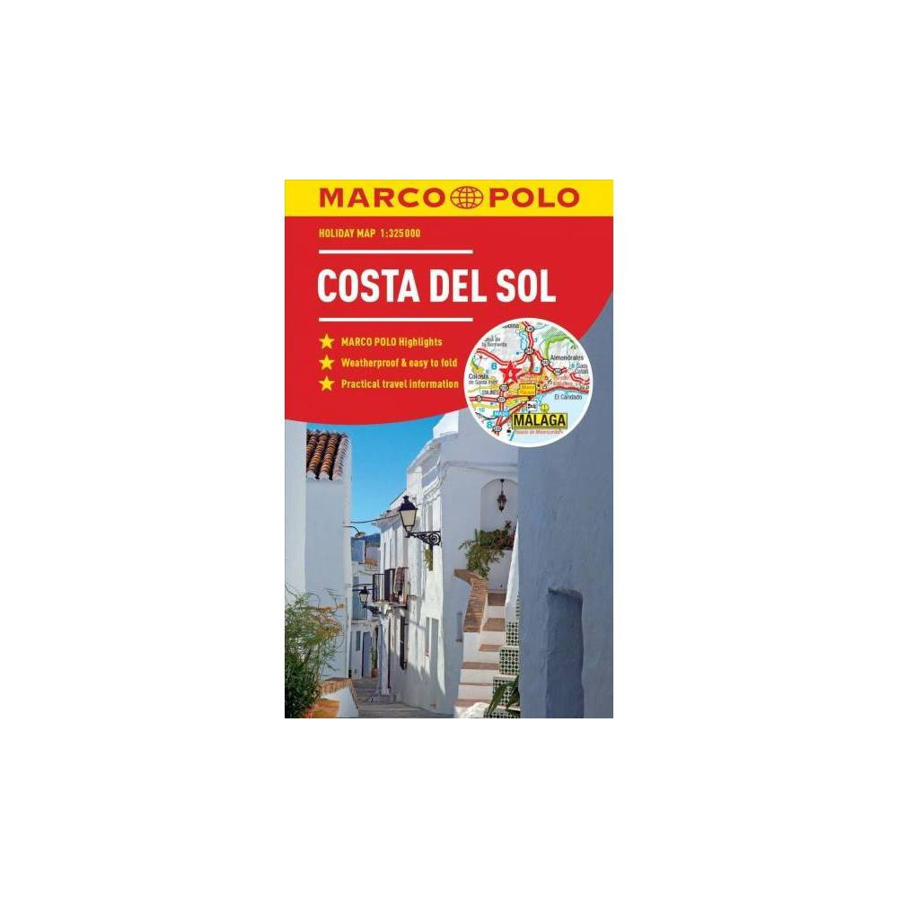 Marco Polo Holiday Map Costa Del Sol - Map (Paperback)