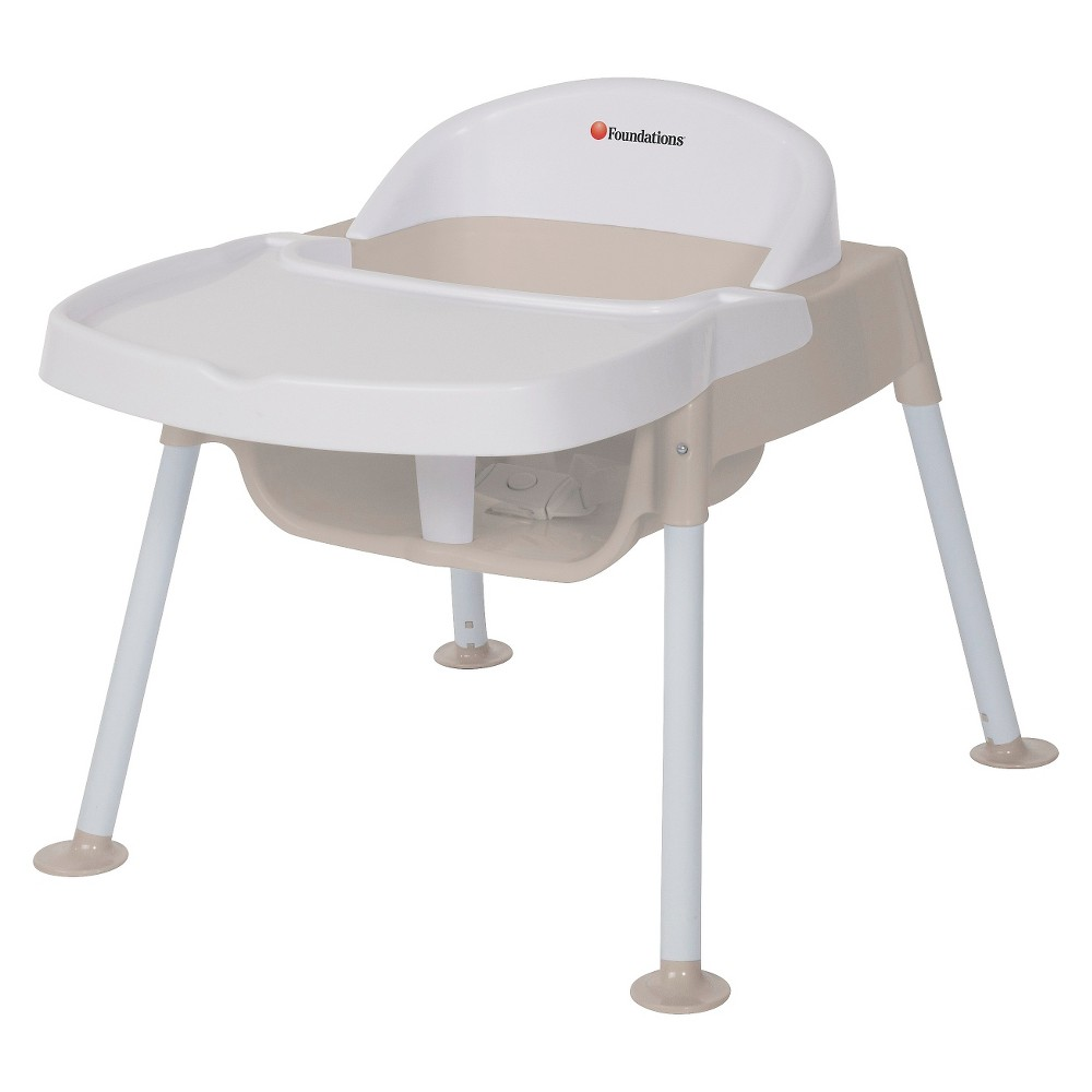 """Image of """"Foundations Secure Sitter 9"""""""" Feeding Chair, Beige White"""""""