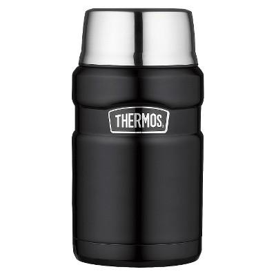 Thermos 24oz Stainless King Food Jar - Black