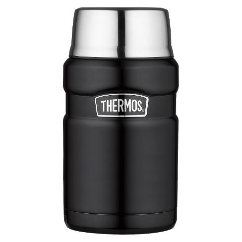 Thermos 24oz Stainless King Food Jar - Black - image 1 of 4