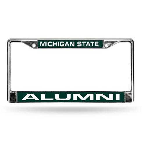 NCAA Michigan State Spartans Alumni Laser Chrome Frame - image 1 of 1