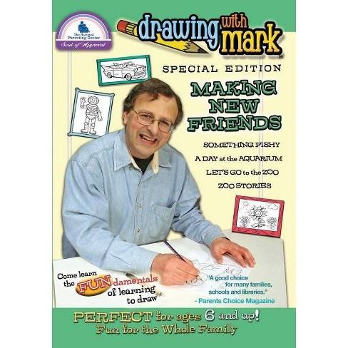 Drawing with Mark: We're Making New Friends (DVD) - image 1 of 1