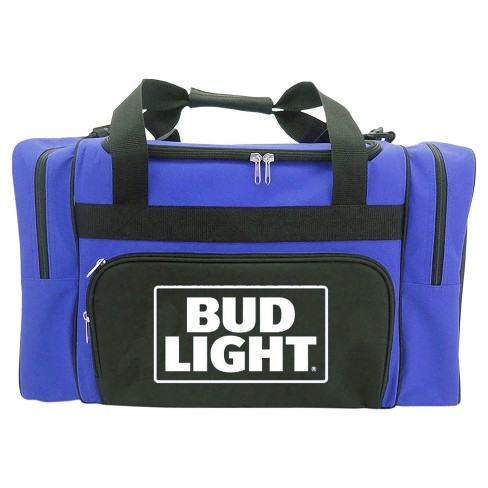 Anheuser-Busch Duffel Cooler Bag with Zippered Front and Side Compartments - Blue (40 Can) - image 1 of 1