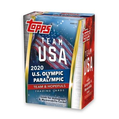 2020 Topps Team USA Olympics & Paralympic Team & Hopefuls Trading Cards Blaster Box