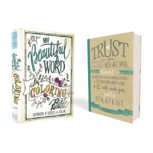 Beautiful Word Coloring Bible-NIV - by  Zondervan (Hardcover) - image 1 of 1
