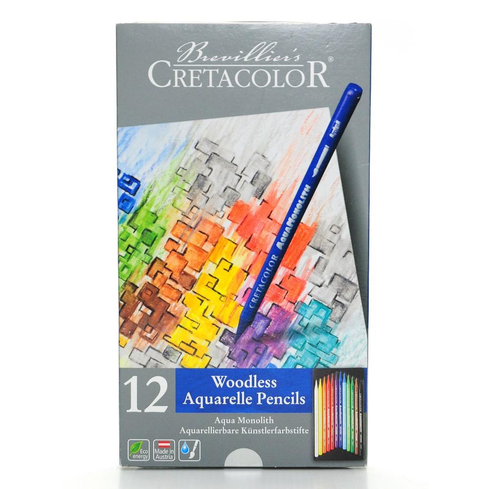 Image of Aqua Monolith Watercolor Pencil Set - Cretacolor 12ct
