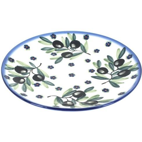 Blue Rose Polish Pottery Kalamata Dinner Plate - image 1 of 1