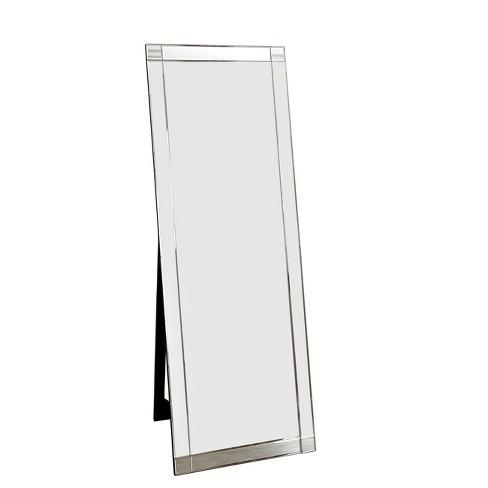 63 Clarice Standing Floor Mirror, Free Standing Leaning Mirror