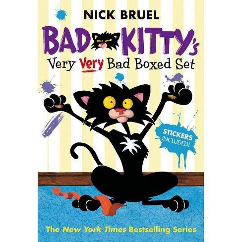 Bad Kitty's Very Very Bad Boxed Set (#2) - by  Nick Bruel (Hardcover) - image 1 of 1