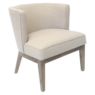 Ava Accent Chair Beige - Boss Office Products