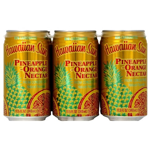 Hawaiian Sun Pineapple-Orange Nectar - 6pk/11.5 fl oz Cans - image 1 of 4