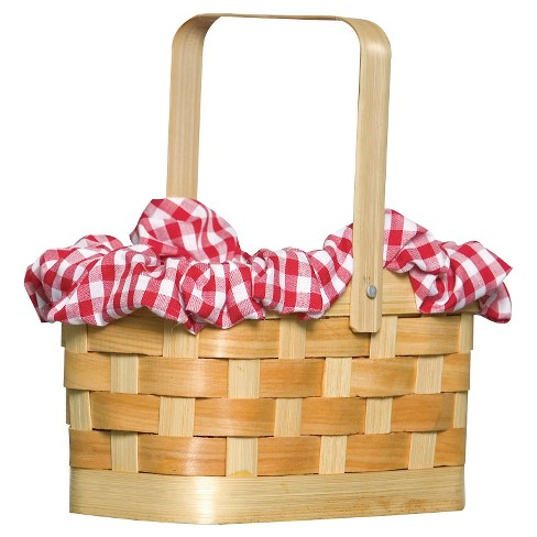 Gingham Basket Costume Accessory - image 1 of 1