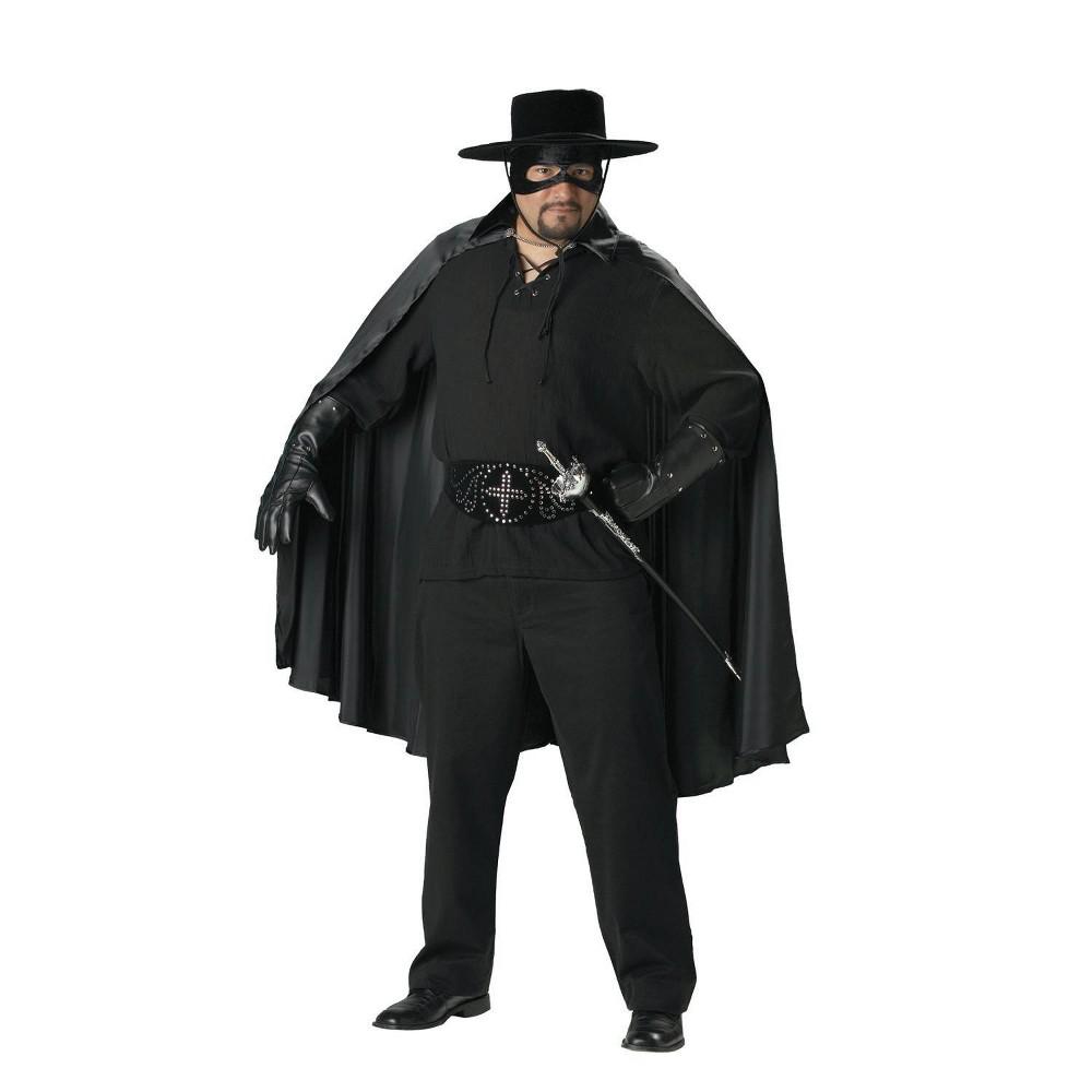 Image of Halloween Men's Bandido Costume Black XX-Large