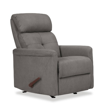 Rocker Recliner Chair Gray - Prolounger