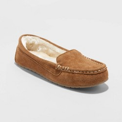 Women's Gemma Genuine Suede Mocassin Slippers - Stars Above™