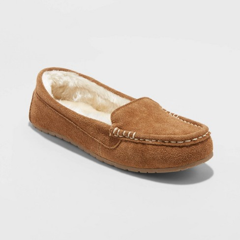 Women's Gemma Genuine Suede Mocassin Slippers - Stars Above™ - image 1 of 4