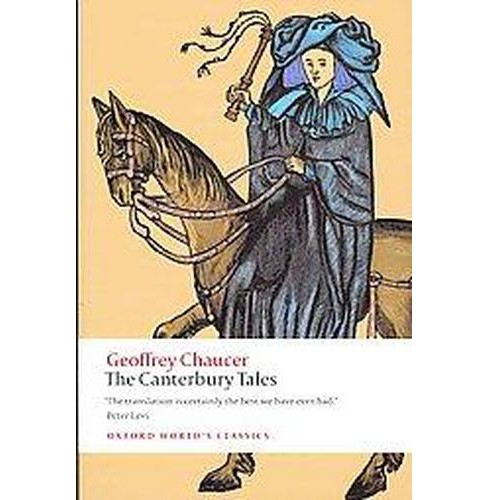Canterbury Tales -  New (Oxford World's Classics) by Geoffrey Chaucer (Paperback) - image 1 of 1