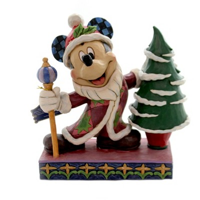 "Jim Shore 7.5"" Jolly Ol' St. Mick Mickey Christmas Tree  -  Decorative Figurines"