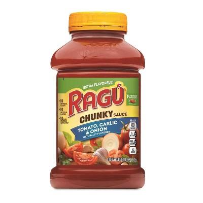 Ragu Chunky Tomato, Garlic & Onion Pasta Sauce - 45oz