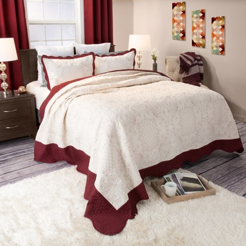 Juliette Embroidered Quilt Set - Yorkshire Home® - image 1 of 1