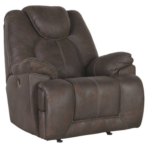 Warrior Fortress Power Recliner Coffee - Signature Design by Ashley - image 1 of 4