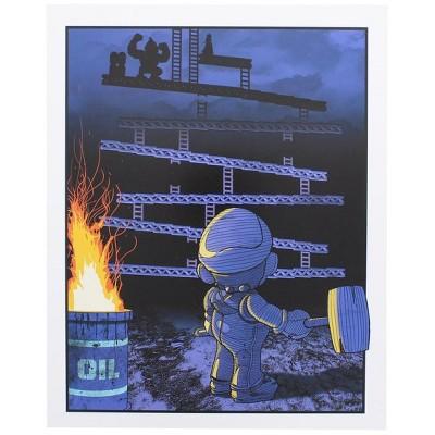 Nerd Block Donkey Kong 8x10 Art Print by Russ Moore (Arcade Block Exclusive)