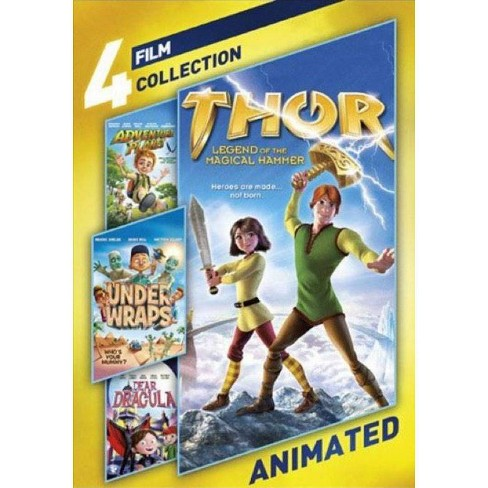 4-film Collection: Animated (DVD) - image 1 of 1