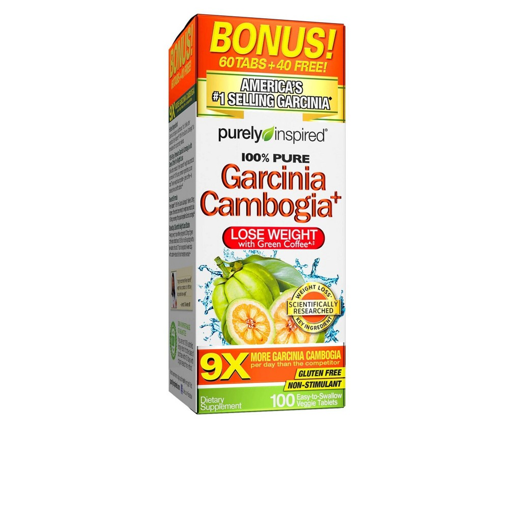 Purely Inspired 100% Pure Garcinia Cambogia Dietary Supplement Tablets - 100ct Price