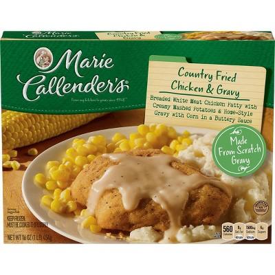 Marie Callender's Frozen Country Fried Chicken & Gravy - 16oz