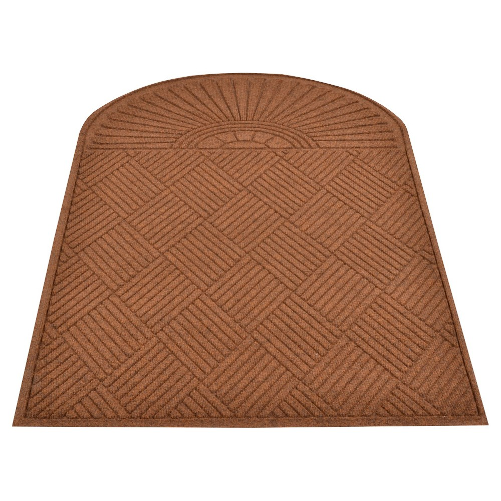 Image of Brown Solid Doormat - (3'X5') - HomeTrax