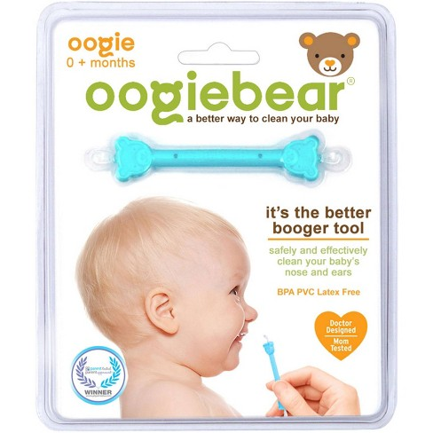 oogiebear The Better Booger Tool Nose & Ear Cleaner - Blue - image 1 of 4