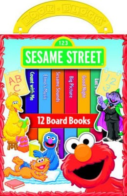 Sesame Street My First Library (Hardcover)(Phoenix)