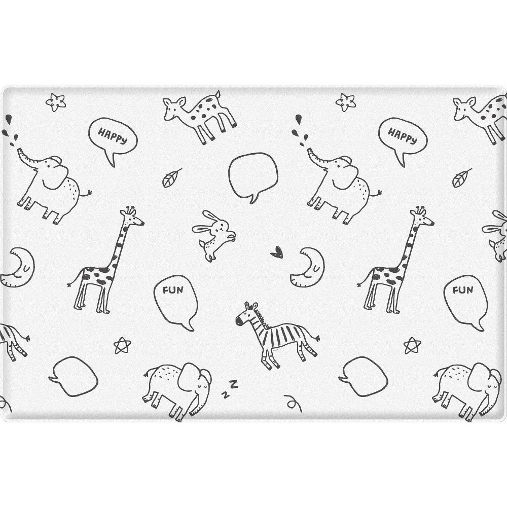 Image of Parklon Animal Talk Soft Baby Play Mat- Small