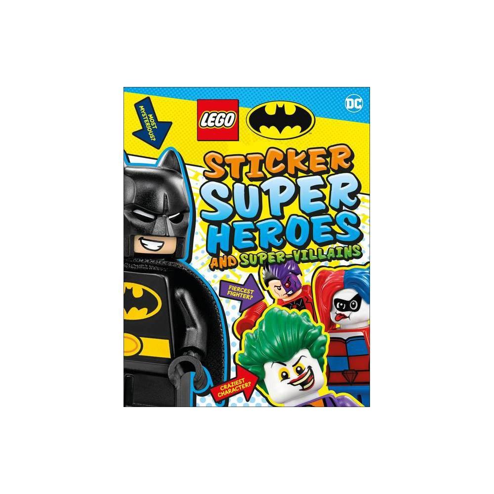 Lego Batman Sticker Super Heroes And Super Villains Ultimate Sticker Book Paperback