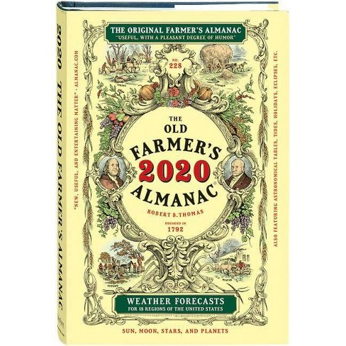 The Old Farmer's Almanac 2020 - (Hardcover) - image 1 of 1