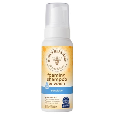 Burt's Bees Baby Foaming Shampoo & Body Wash - 8.4oz
