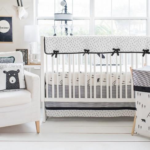 Crib Liner My Baby Sam Black - image 1 of 3
